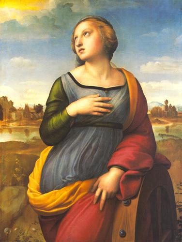 Saint Catherine of Alexandria, 1507 by Raphael