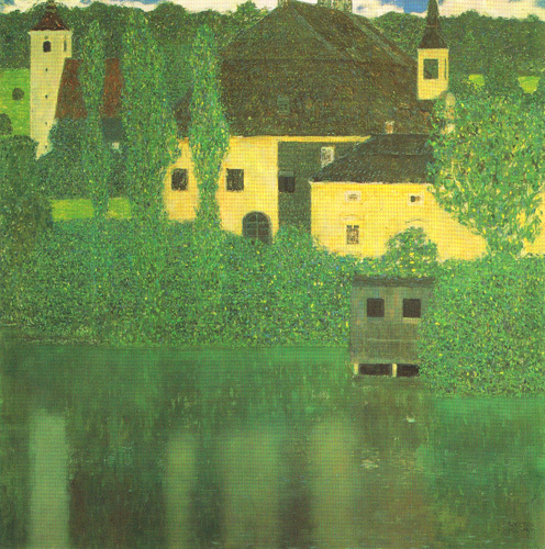 Schloss Unterach on the Attersea by Gustav Klimt