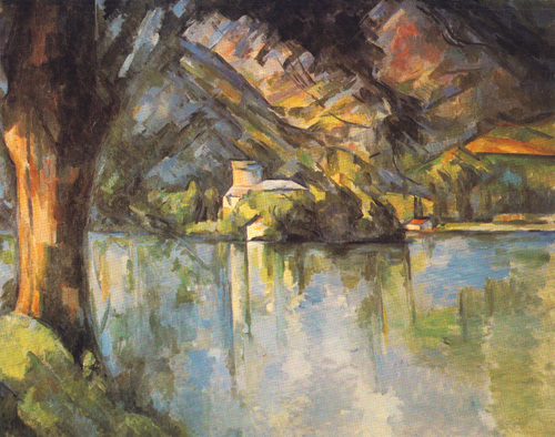 Le Lac d'Annecy by Paul Cezanne