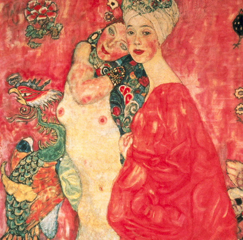 Women Friends, 1916 by Gustav Klimt