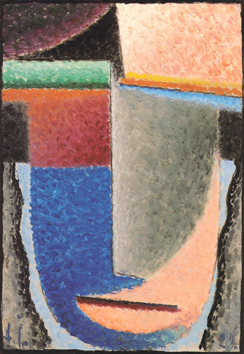 Abstract Head, 1929 by Alexei Von Jawlensky