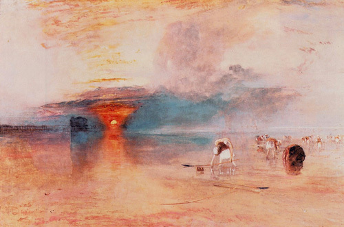 Calais Sands at Low Water, 1830 by Joseph Mallord William Turner