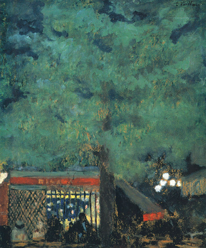 The Guinguette, c.1898 by Edouard Vuillard