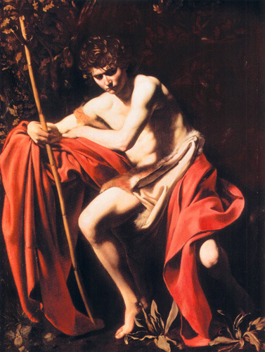 St. John the Baptist in the Wilderness by Michelangelo Merisi da Caravaggio