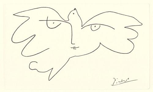Etude pour Yuri Gagarin, 1961 by Pablo Picasso
