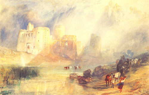 Kidwelly Castle, South Wales by Joseph Mallord William Turner