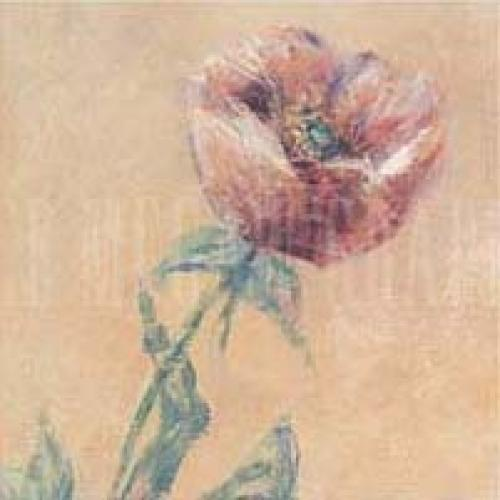 Purple Poppies (detail I) by Claude Monet