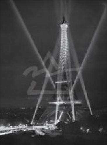 Tour Eiffel, Paris, 14 juillet, 1947 by Rene Jacques