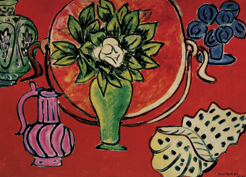 Still Life with Magnolia by Henri Matisse