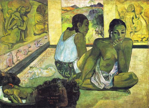 Te Rerioa by Paul Gauguin