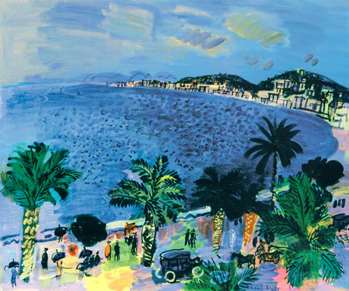 The Bay of Angels - Nice, 1929 by Raoul Dufy