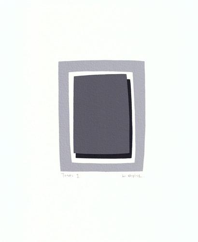 Tones I (serigraph) by Denise Duplock