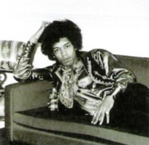 Jimi Hendrix, London, England, 1967 by Artist Not Specified