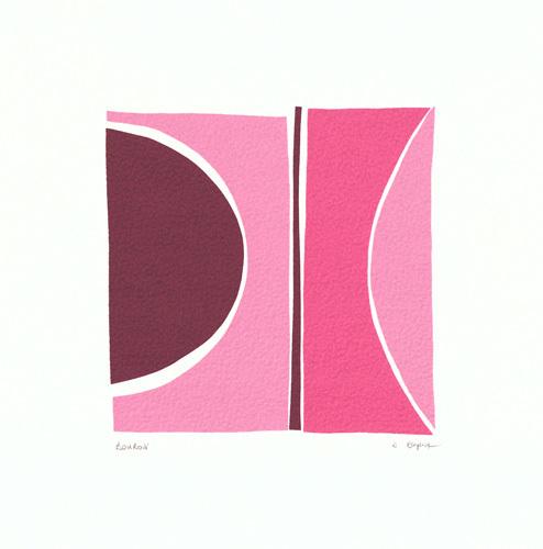 Boudoir (serigraph) by Denise Duplock