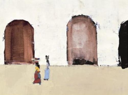Two Guatemalen Women by Sandra Pratt