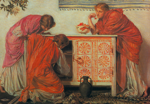 Pomegranates by Albert Moore