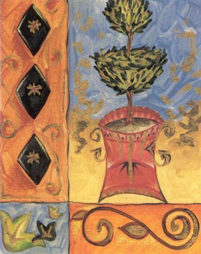 Topiary Treasures IV by Liz Jardine