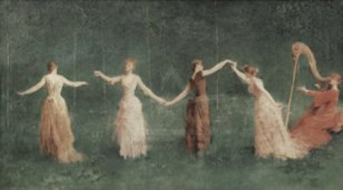 Summer, 1890 by Maria Dewing