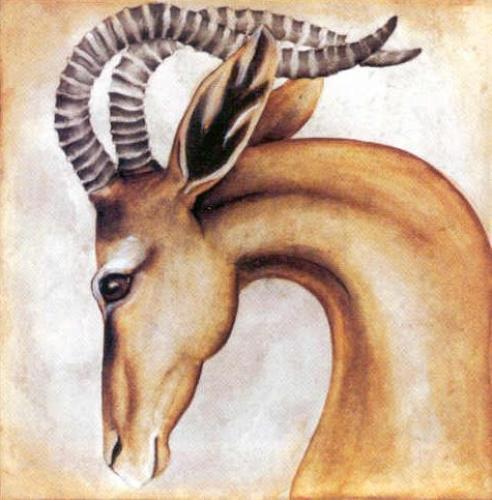 Serengeti Gerenuk by Susan Hartenhoff