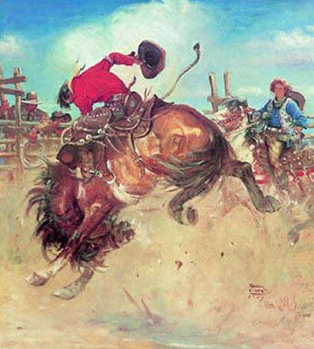 Breaking the Bronco by Benton Clark