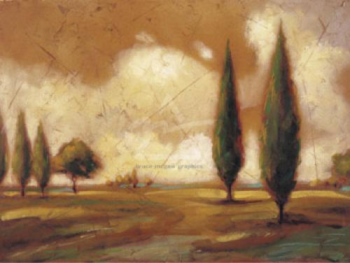 Poplar Meadow II by Mel Patrick