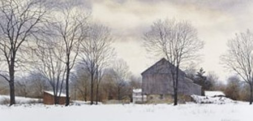 Bucks Winter by Hendershot