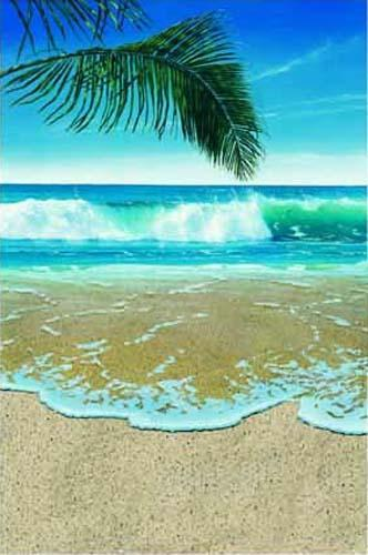 Palm Breezes I by Jacquelynn Kresman