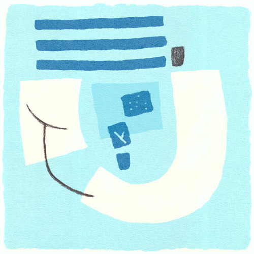 Aegean I (serigraph) by Sally McGill