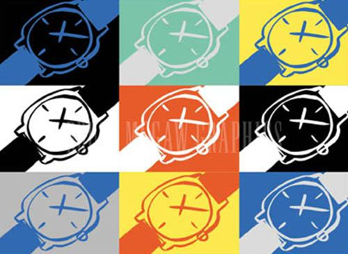 Watches x 9 by Tom Slaughter