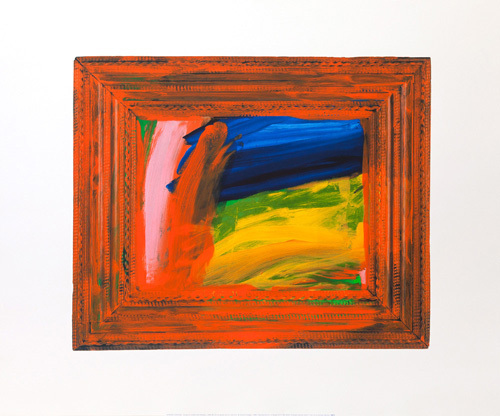 Going for a Walk with Andrew, 1995-98 by Sir Howard Hodgkin