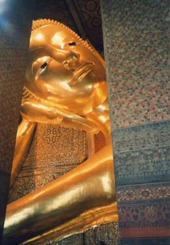Buddha, Bangkok by Heinz Krimmer