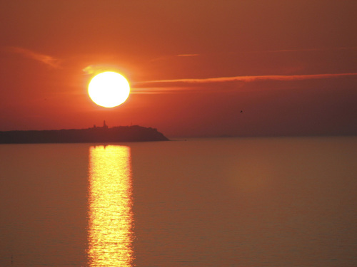 Sunset over the sea I by Rosseforp