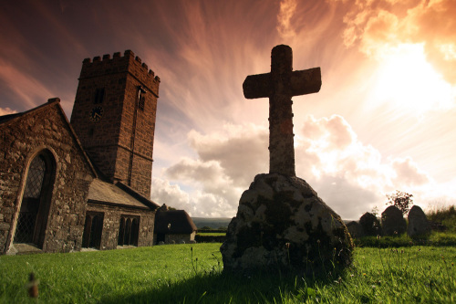 St.Peters Church, Buckland in the Moor by Roland Marske