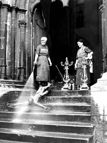 Church cleaners by Walter Martin