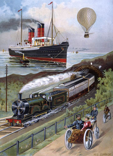 Transport Scene by The National Archives