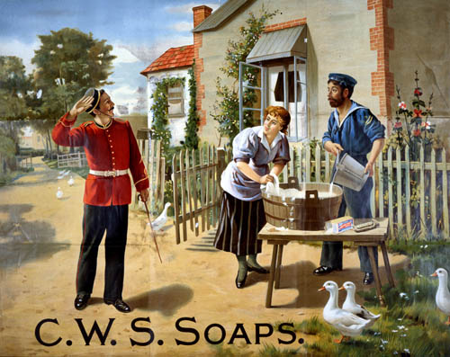 C.W.S. Country Scene Soap by The National Archives