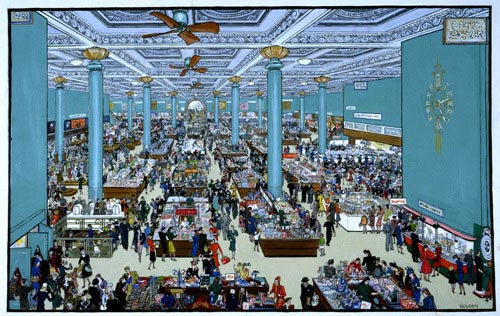 Department Store Scene by The National Archives