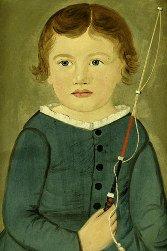 Portrait Of A Young Boy by William Matthews Prior