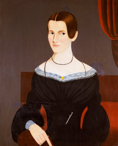 Portrait Of A Young Woman, 1845 by George Hartwell