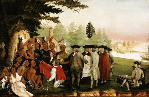 Penn's Treaty With The Indians by Edward Hicks