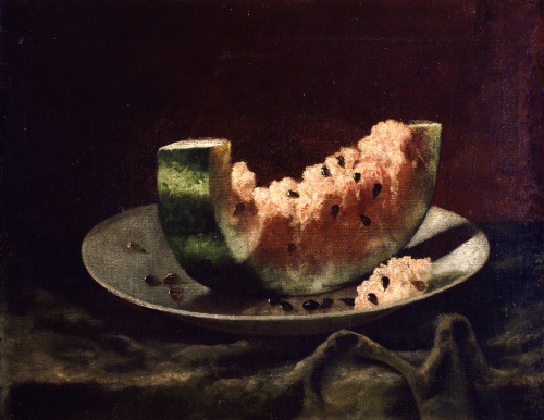 Still Life With Watermelon by Carducius Plantagenet Ream
