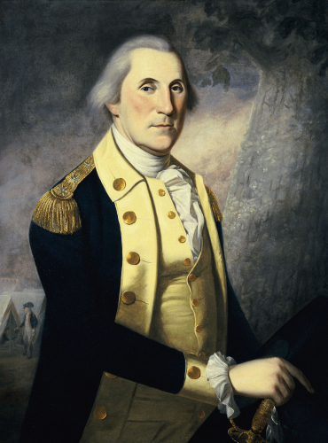Portrait Of George Washington by James Peale
