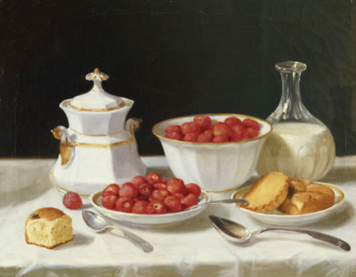 The Dessert Table by John F. Francis