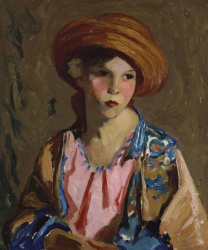 Mildred-O-Hat by Robert Henri
