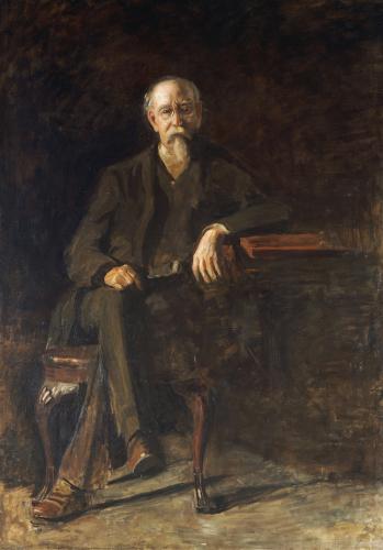 Portrait Dr. William Thompson by Thomas Cowperthwait Eakins