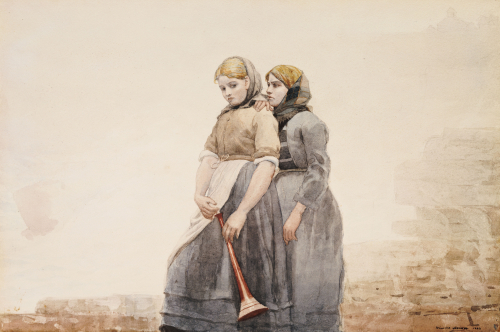 The Fog Horn by Winslow Homer