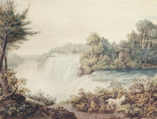 Niagara Falls; Taken From Goat Island by William James Bennett