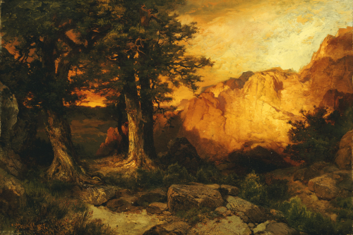 The Grand Canyon by Thomas Moran