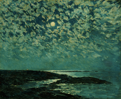 Moonlight, Isle Of Shoals by Frederick Childe Hassam