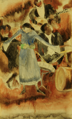 The Jazz Singer by Charles Henry Demuth